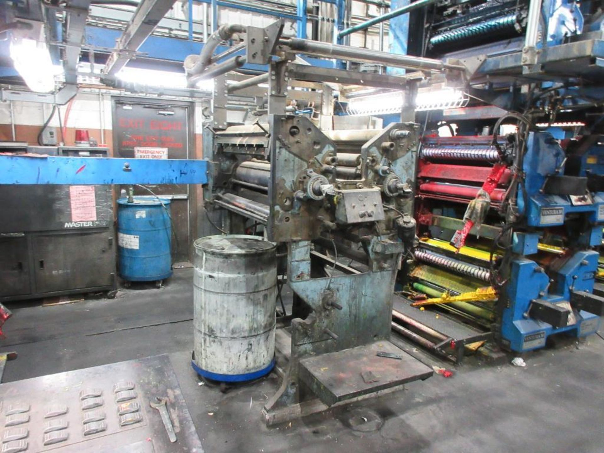 "Complete Goss/Ventura 22.75"" cut off 50 unit web offset press featuring: Ventura 30 4 high (0), Vent - Image 14 of 58"