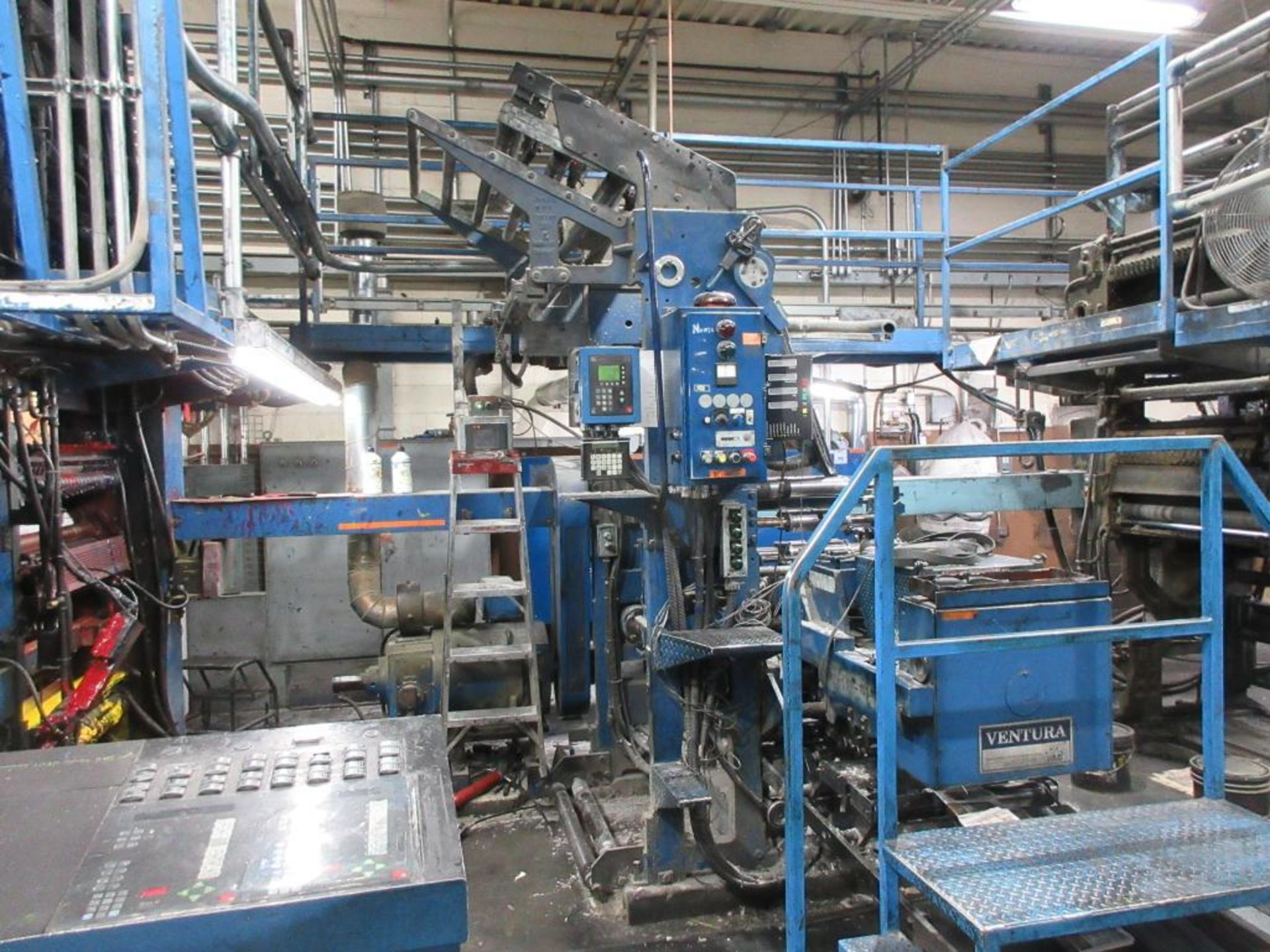 "Complete Goss/Ventura 22.75"" cut off 50 unit web offset press featuring: Ventura 30 4 high (0), Vent - Image 18 of 58"