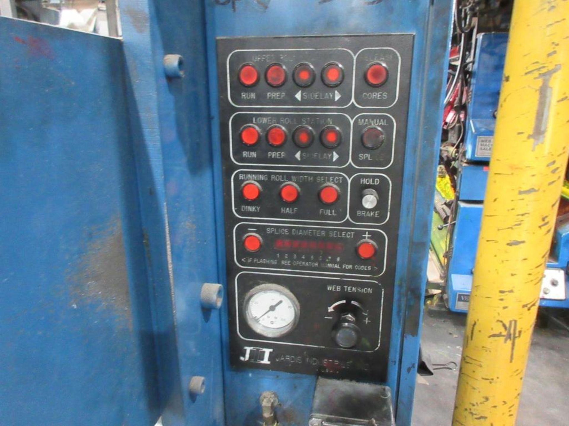 "Complete Goss/Ventura 22.75"" cut off 50 unit web offset press featuring: Ventura 30 4 high (0), Vent - Image 42 of 58"