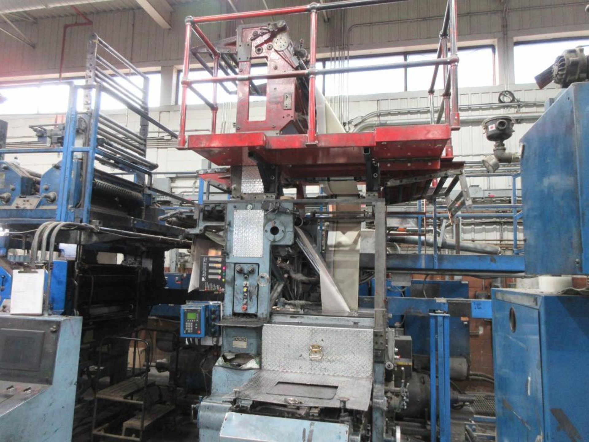 "Complete Goss/Ventura 22.75"" cut off 50 unit web offset press featuring: Ventura 30 4 high (0), Vent - Image 12 of 58"