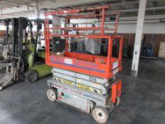 Sky Jack scissor lift model SJIII-3219, 500 lb platform capacity, sn 234112