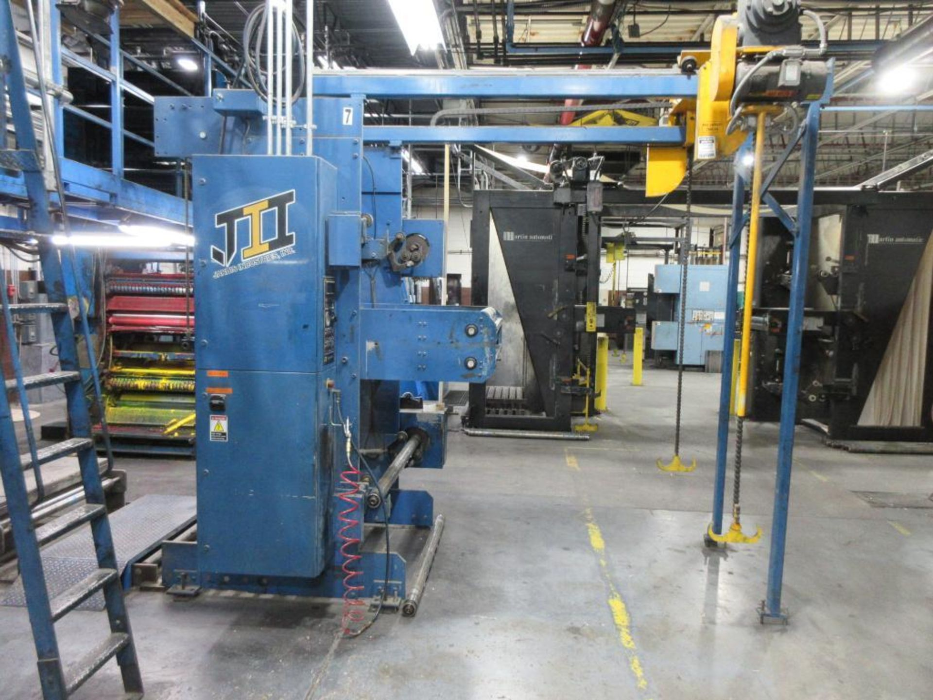 "Complete Goss/Ventura 22.75"" cut off 50 unit web offset press featuring: Ventura 30 4 high (0), Vent - Image 49 of 58"