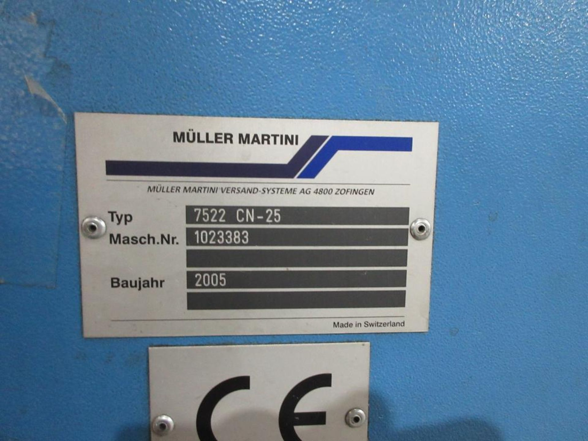 2005 Muller Martini Alphaliner inserter model 7500.0403, minimum pages 4 (tabloid, broadsheet, magaz - Image 12 of 15