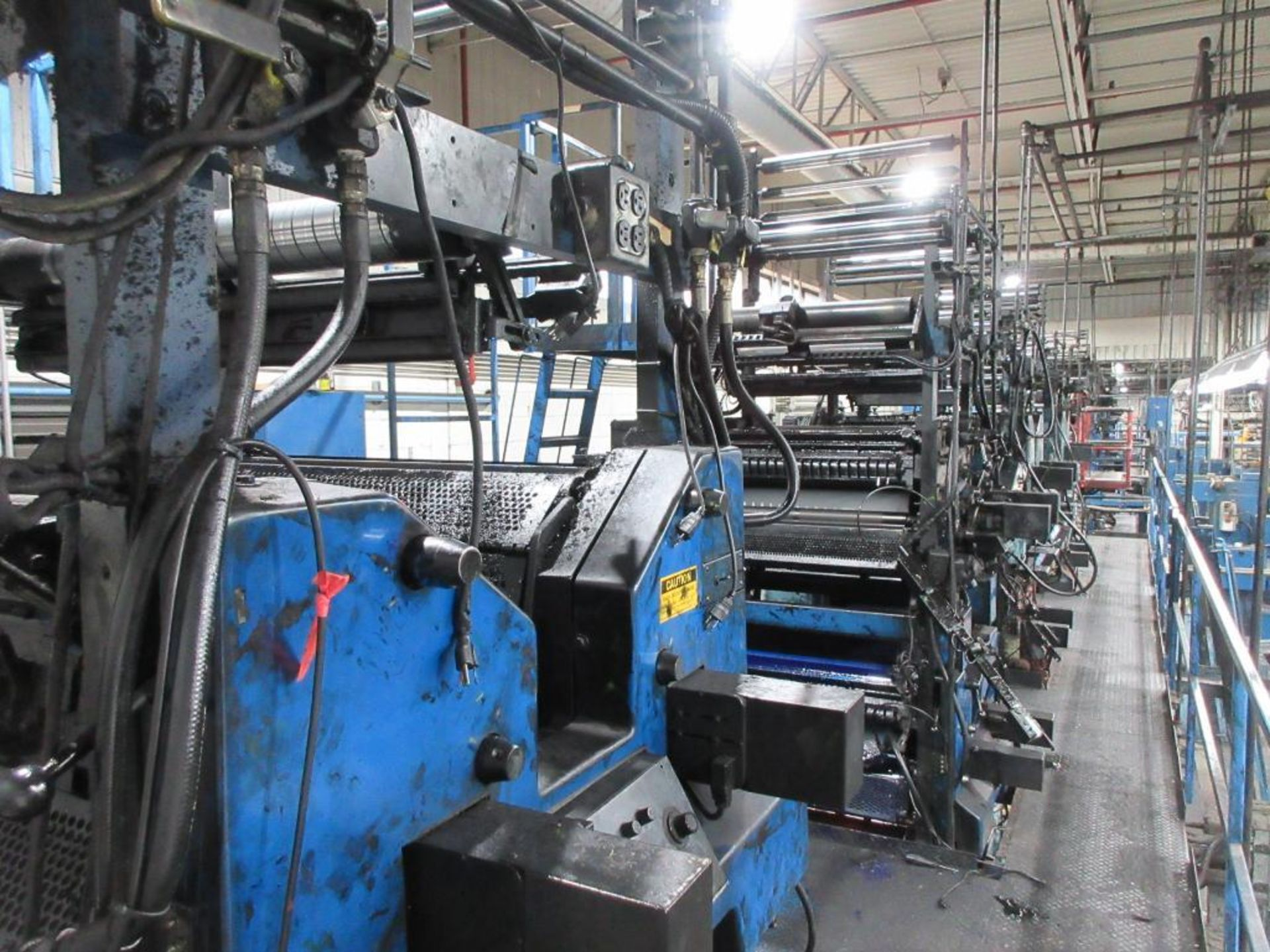 "Complete Goss/Ventura 22.75"" cut off 50 unit web offset press featuring: Ventura 30 4 high (0), Vent - Image 3 of 58"