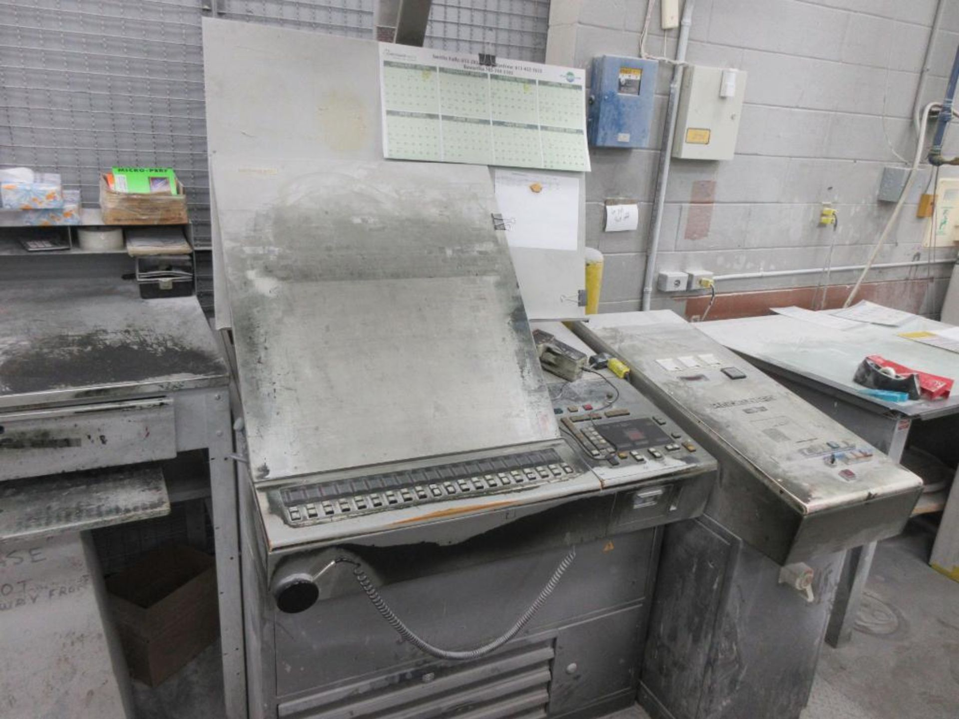 HEIDELBERG MOFP-H 19 x 25_, 5 color sheet fed offset perfecting press with high pile delivery, sn 60 - Image 10 of 11