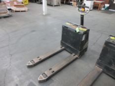 """Crown 4,500 lb capacity electric walkie model WP3035-45, 45"""" forks, sn 7A260749"""