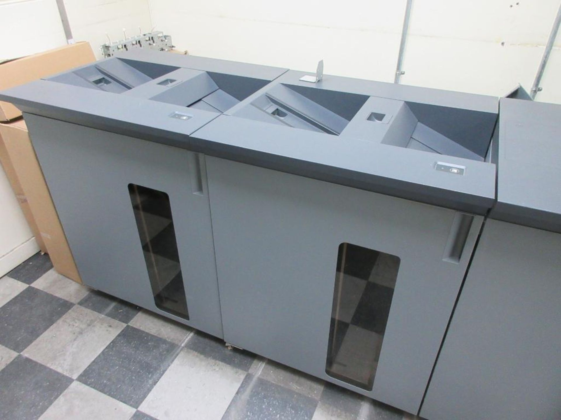 Konica Minolta Digital Press model bizhub press C8000 full colour & B/W 0 PPM capacity, components: - Image 6 of 14
