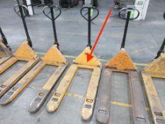 """Pallet Jack, 5,500 lb capacity, 48"""" forks"""