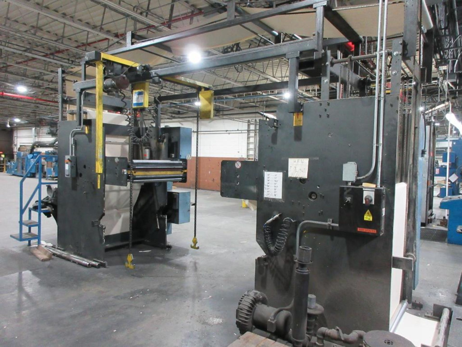 "Complete Goss/Ventura 22.75"" cut off 50 unit web offset press featuring: Ventura 30 4 high (0), Vent - Image 56 of 58"
