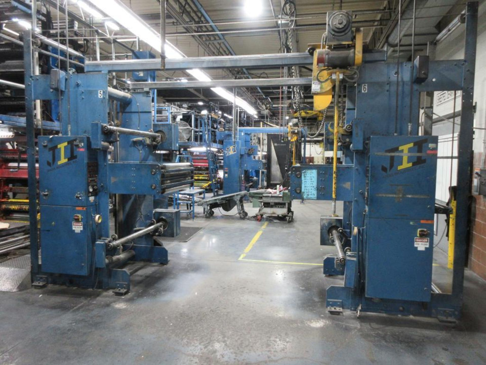 "Complete Goss/Ventura 22.75"" cut off 50 unit web offset press featuring: Ventura 30 4 high (0), Vent - Image 46 of 58"