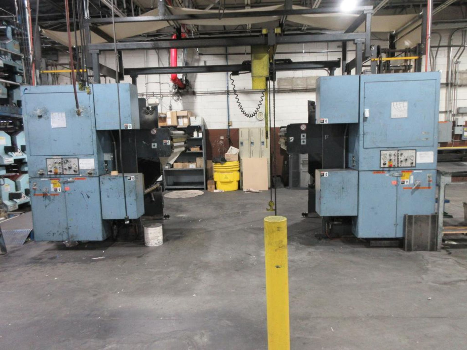 "Complete Goss/Ventura 22.75"" cut off 50 unit web offset press featuring: Ventura 30 4 high (0), Vent - Image 55 of 58"