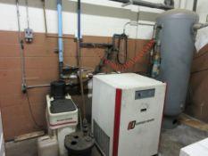 Gardner Denver air dryer model RNC400A5, 400 SCFM, sn RG0J0400A05A2NF07042, oil separator model CTS3