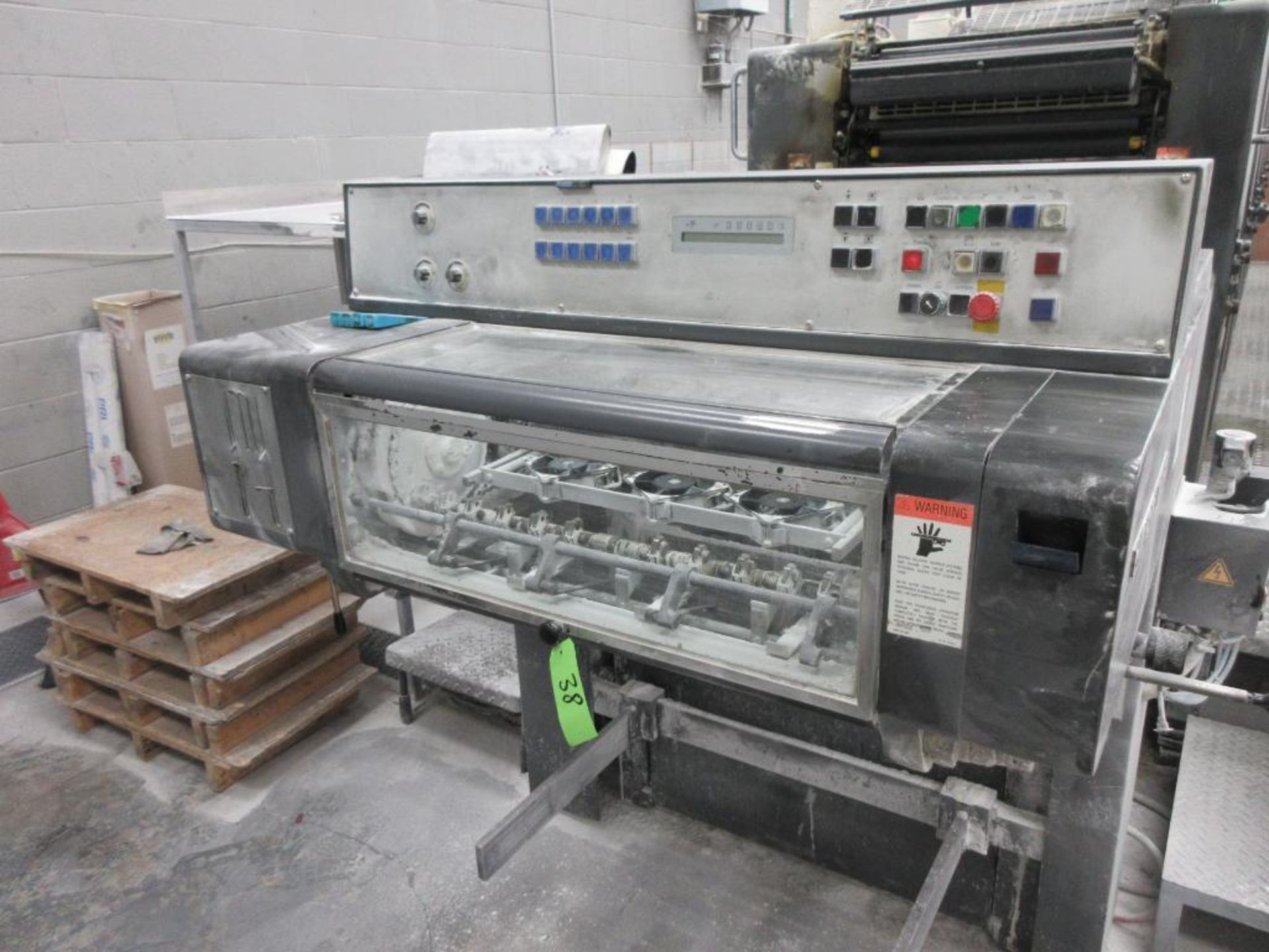 HEIDELBERG MOSP-H 19 x 25_, 6 color sheet fed offset perfecting press with high pile delivery, sn 61 - Image 10 of 10