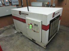 2002 Gardner Denver 50 HP air compressor, model EDE99m, sn S258928 [Exclusive rigging fee of $400 wi