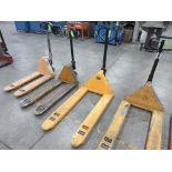 """Pallet Jack, 5,000 lb capacity, 48"""" forks"""