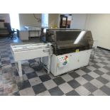 "Nela plate punch / bender model Benchmark 0657-01, 40"" infeed conveyor, 60"" bend table, 40"" outfeed"