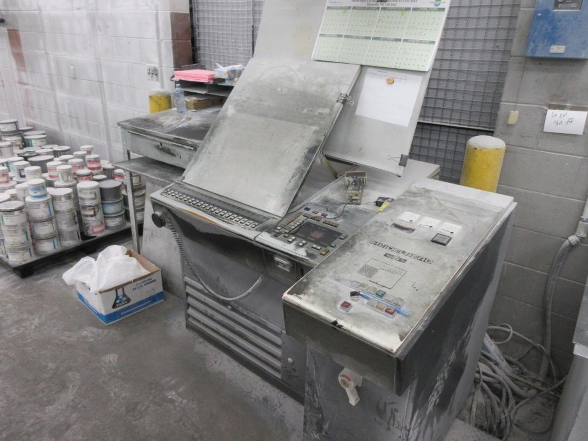 HEIDELBERG MOFP-H 19 x 25_, 5 color sheet fed offset perfecting press with high pile delivery, sn 60 - Image 11 of 11