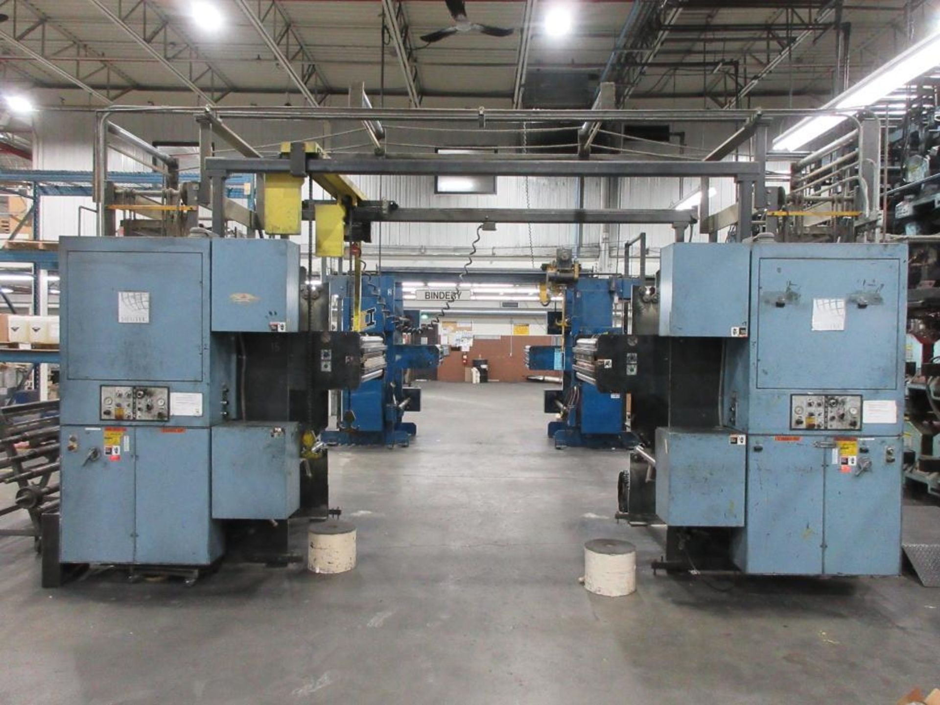 "Complete Goss/Ventura 22.75"" cut off 50 unit web offset press featuring: Ventura 30 4 high (0), Vent - Image 37 of 58"