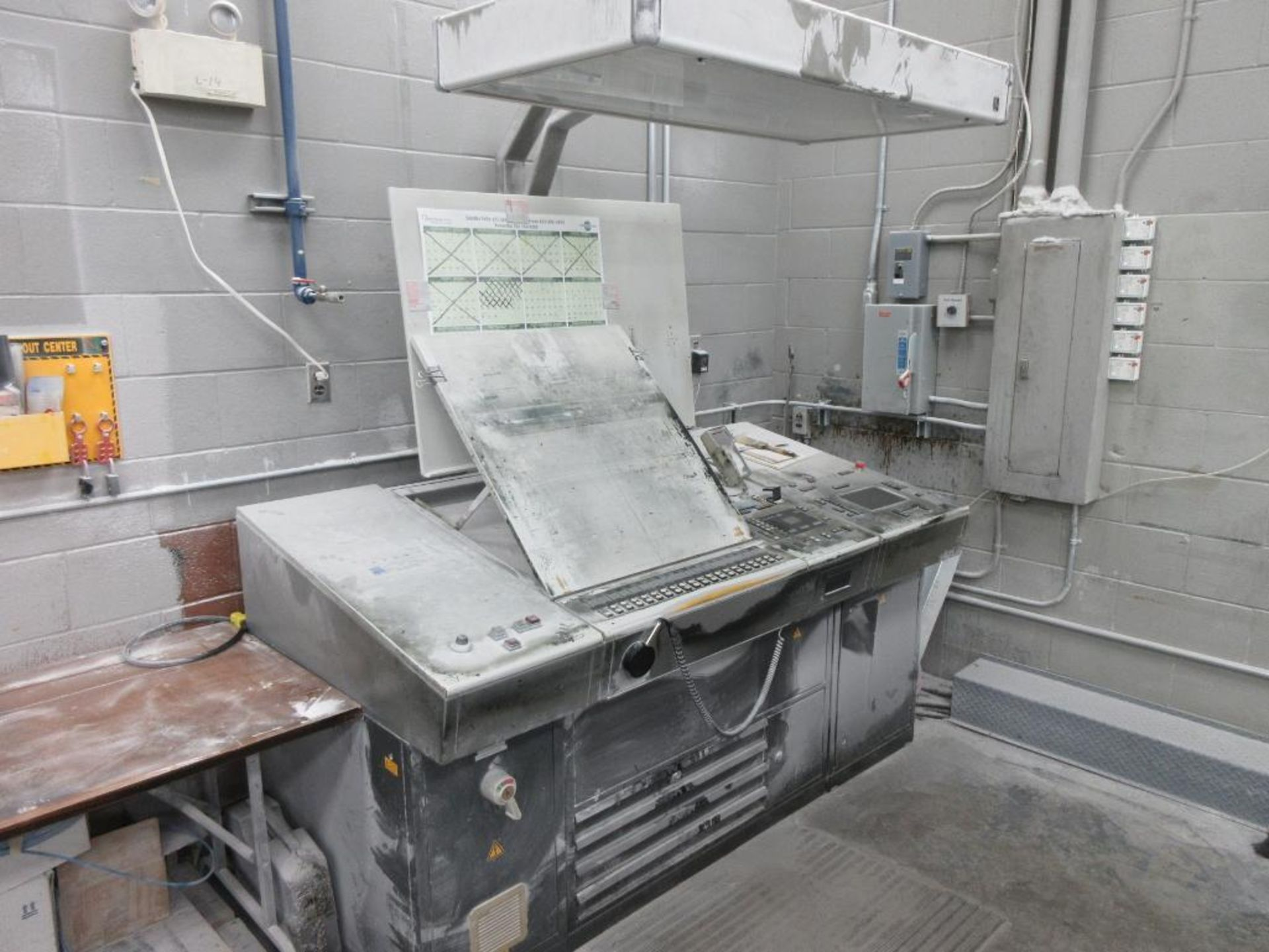 HEIDELBERG MOSP-H 19 x 25_, 6 color sheet fed offset perfecting press with high pile delivery, sn 61 - Image 7 of 10