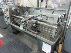 "COLCHESTER lathe model 600, 16"" x 50"", 9"" 3 jaw chuck, 2-1/8"" bore, tailstock, toolpost, 25-2000 rpm"