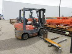 Toyota 4,900 lb forklift *Not in operating condition*, model 42-6FGCU25, sn 64151 [Centra Cambridge]