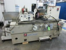 "TACCHELLA MACCHINE OD grinder, model 1018, grinding wheel speed 33 m/s, max wheel dia 16"", 1484 rpm,"
