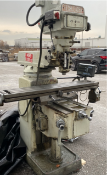 TECHLEADER mill model 3V5, power X, mitutoyo 2 axis DRO, 1990, sn 6742 (From Pickering) [Exclusive r