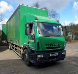Timed Online Auction – A Fleet of 18t and 7.5t 4x2 Curtainside Trucks