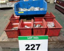A Large Quantity of Hydraulic Connectors, QRs, Tee Pieces, Dials, M/F, M/M, etc. (As Lotted)