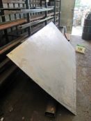 A Sheet of 2500mmm x 1250mm x 1.5mm of Stainless Steel