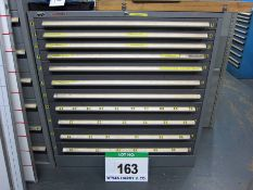 A SCHAFFER 1055mm x 630mm x 1100mm Chest of Eleven Graduated Drawers for Tools/Parts Storage