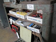 A MEDDINGS 1380mm x 545mm x 925mm Cast Iron T-Slotted Drill Bench and A 920mm x 640mm x 840mm