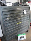 A 1090mm x 750mm x 1160mm Workshop Chest of Eleven Graduated Drawers and Contents of A Large
