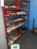 The Contents of One Rack comprising Assorted CASCADE Attachment Mounting Blocks and Hooks for