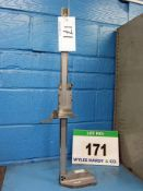A MITUTOYO 24 Inch/600mm Vertical Height Gauge, Calibrated to 25/08/2020 with Certificate