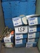 Ten Boxes of Rawplug, Rawbolts Type M1630L and A Quantity of other Rawbolts