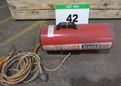 A SEALEY Model LP60 15-Kw LPG/240V Space Heater