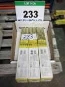 Three Packs of ESAB Type OK 48.00 Electrodes, Welding Rods, 3.2mm x 480mm - .6Kg Per Pack (Sealed