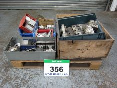 A Pallet of Assorted CASCADE Mounting Groups, Hooks and Blocks (As Lotted)