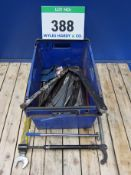 A Crate containing A Quantity of Assorted Pin Spanner Punches, Cold Chisels, etc. (As Lotted)