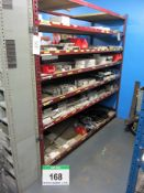 Two Bays of 2100mm x 7050mm x 2000mm Heavy Duty Shelving comprising Four End Frames and Twenty Two