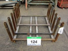 A 1060mm x 1030mm x 560mm Heavy Duty Steel Adaptor Carriage storage rack
