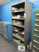 Two Bays of 910mm x 460mm x 1910mm DEXION Type Shelving, One Bay with Fifty Six Parts Drawers (