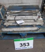 10 x Various Forklift Attachment Hydraulic Rams