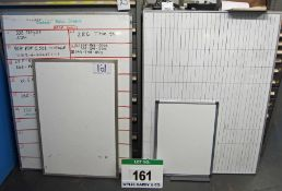 Four Various Wipe Boards