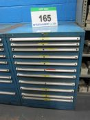 A DEXION 715mm x 705mm x 1000mm Chest of Eleven Graduated Drawers for Tools/Parts Storage