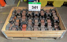 Thirty Three LINDE T20/T24 Load Wheel Assemblies in a Pallet Box