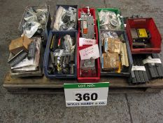 A Pallet of Unused CASCADE Parts (all P/N Identified) including Hydraulic Valve Blocks, Seal Kits