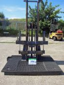 A CASCADE Test Rig for Forklift Attachment Testing, comprising Simplex Mast 2.5M Max. Lift mounted