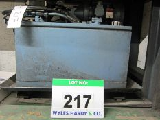 A RAM POWER Model RP49228 Hydraulic Power Pack with BROOK COMPTON PARKINSON 4KW 3ph Electric Motor